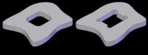 Undercut (manufacturing) - An example of a machining undercut