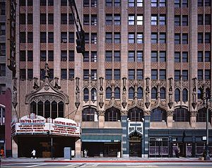 Ace Hotel Los Angeles - Street facade on Broadway.