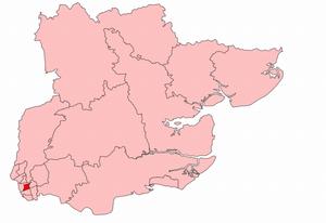 Upton (UK Parliament constituency) - Image: Upton 1918