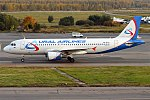 Ural Airlines, VQ-BLO, Airbus A320-214 (16455263572) (2).jpg