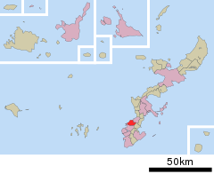 Urasoe in Okinawa Prefecture Ja.svg