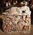 Urna in alabastro con la morte di ippolito, da sarteano, 210 ac ca. 01.jpg