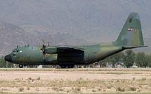 Un C-130 uruguaiano