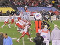 Utes on offense at 2009 Poinsettia Bowl 5.JPG