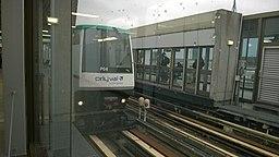 VAL 206 à la station Orly Ouest
