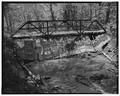 VIEW TO WEST - Deer Creek Bridge, Spanning Deer Creek at Township Road 406, Geff, Wayne County, IL HAER ILL, 96-GEFF. V, 1-3.tif