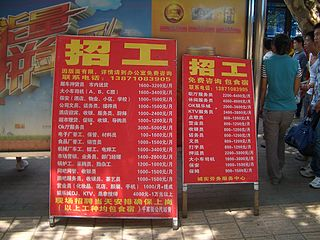 Labor relations in China