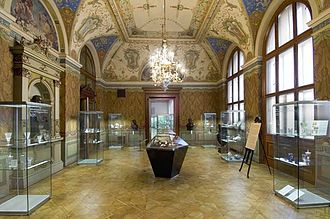 Museum of Decorative Arts in Prague - Founders' Hall