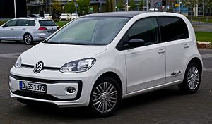 VW high up! 1.0 BlueMotion Technology (Facelift) – Frontansicht, 21. April 2017, Düsseldorf.jpg