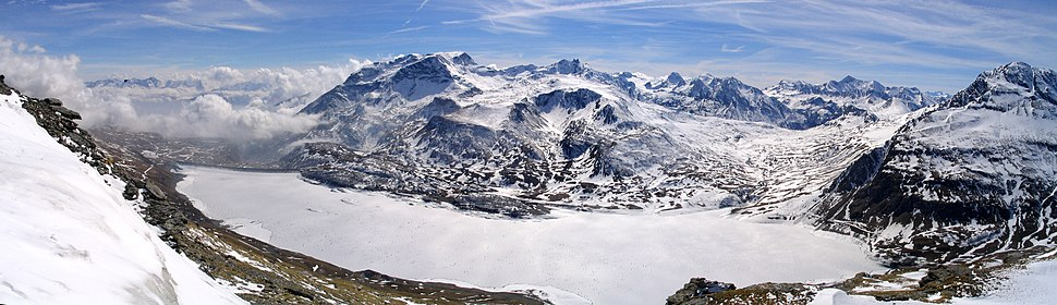 Val cenis stausee