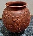 Vase en terre cuite sigillée à décor de guerrier, du dieu Bacchus et de pampres.jpg
