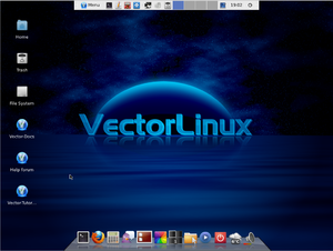 VectorLinux - Image: Vector Linux 7 GOLD