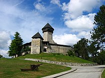 Velika Kladusa, Bosnia-Herzegovina, Castle.JPG
