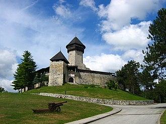 Architecture of Bosnia and Herzegovina - Castle in Velika Kladuša