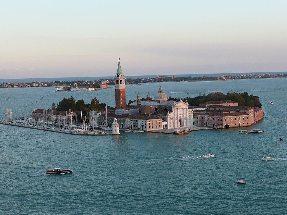 Venise - S Giorgio Maggiore depuis le campanile St Marc