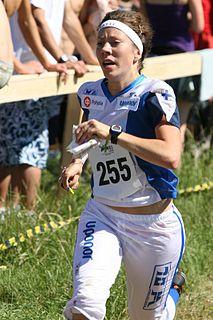 Venla Niemi Finnish orienteer