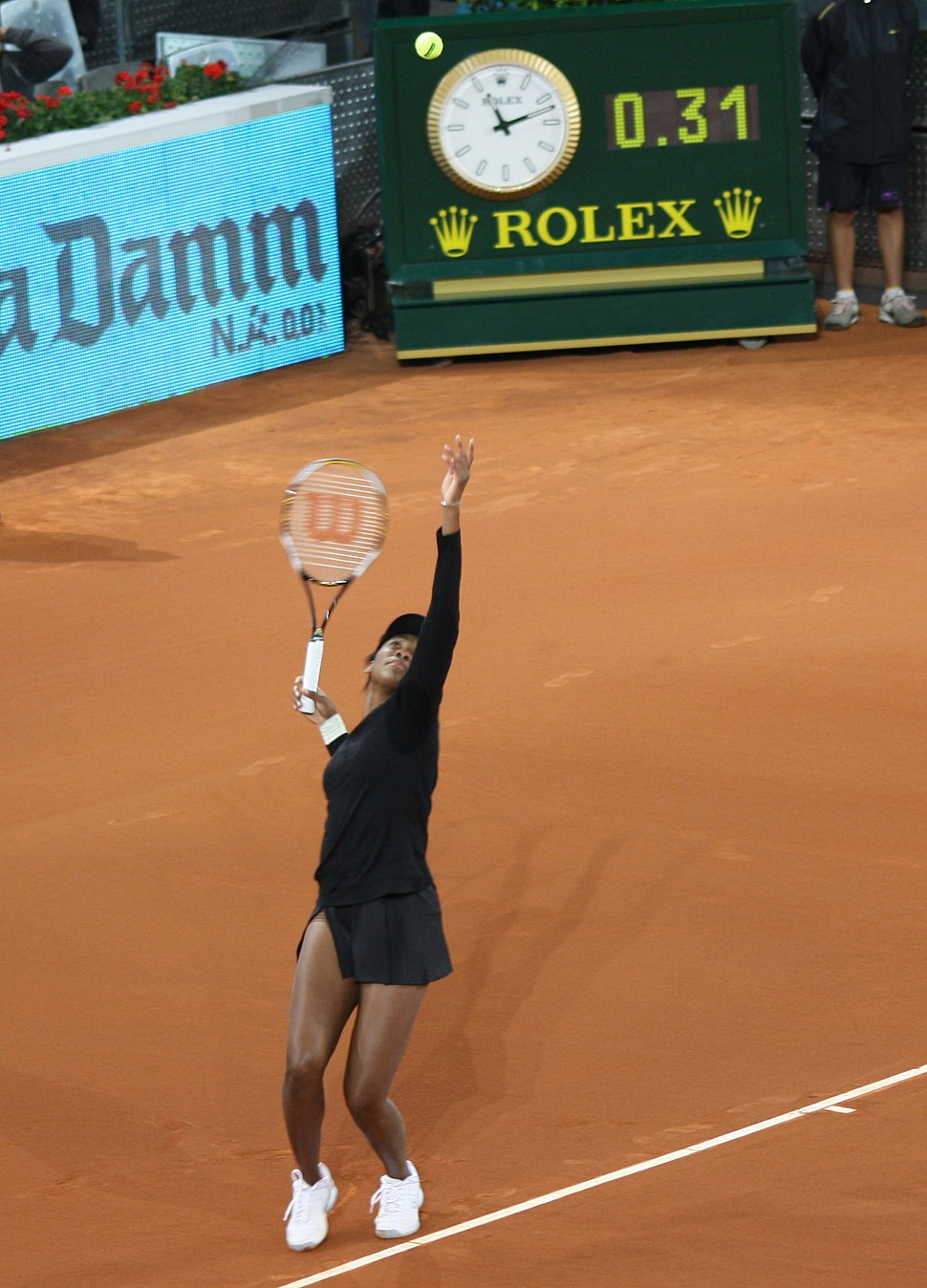 Venus Williams Madrid Open