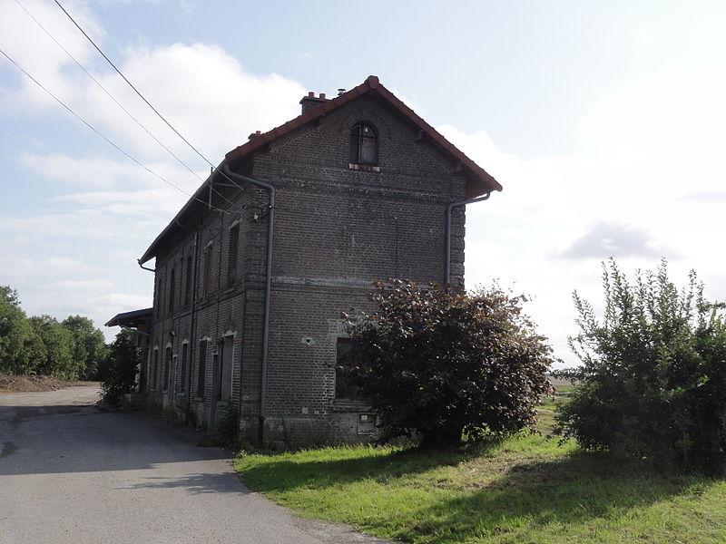 Vermand (Aisne) ancienne gare