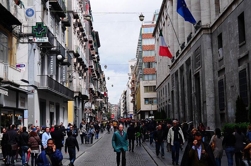 File:Via Toledo, Naples, Campania, Italy, South Europe-7.jpg