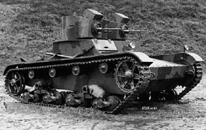 Polnischer Vickers 6-Ton Ausf. A