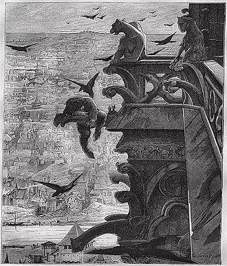The Hunchback of Notre-Dame - Illustration from Victor Hugo et son temps (1881)