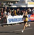 Vienna 2013-04-14 Vienna City Marathon - F4 Rosaria Console, ITA, preparing for race c.jpg