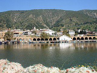 Ghar el-Melh Place in Bizerte Governorate, Tunisia