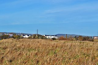 Machynys Human settlement in Wales