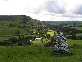Applegarth, North Yorkshire - View from Applegarth Scar