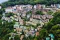 View of Gangtok City from Crown Prince Tenzing Kunzang Namgyal Walkway.jpg