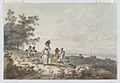View of London with St. Paul's in the Distance- Woman and Children with a Baby Carriage MET DP866774-1.jpg