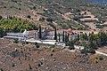 View of the Monastery of Saint Anargyroi in Argolis from Larissa Castle on September 5, 2020.jpg