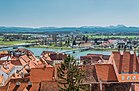 View on City Ptuj from Ptuj Castle.jpg