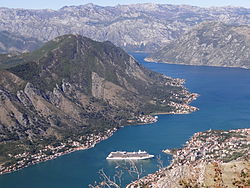 View over Bay of Kotor