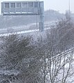 View towards a snowy M1 - geograph.org.uk - 1165816.jpg