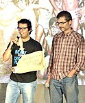 Vikas Bahl (L) and Nitesh Tiwari (R) (Director) - Best Children's Film and Best Screenplay (Original) - Chillar Party