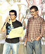 Vikas Bahl (L) and Nitesh Tiwari (R) (Director) - Best Children's Film and Best Screenplay (Original)