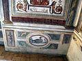 Villa medici, studiolo del cardinale, grottesche pareti, zoccolo 01.JPG