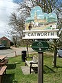 Village Sign, Catworth - geograph.org.uk - 747162.jpg