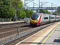 Virgin Trains Class 390 Pendolino at Rugeley Trent Valley Station (34519915436).jpg