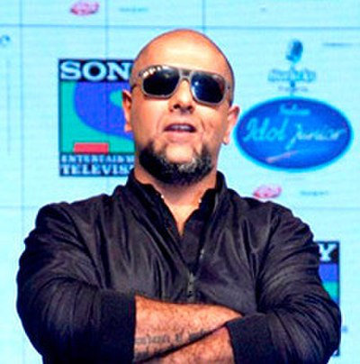 Picture of a band or musician: Vishal Dadlani