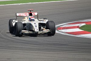 Addax Team - Vitaly Petrov driving for Barwa Addax at the Turkish round of the 2009 GP2 Series season.