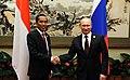 Vladimir Putin and Joko Widodo (2014-11-10) 01.jpg