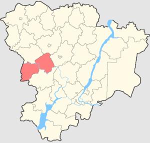 Serafimovichsky District - Image: Volgogradskaya oblast Serafimovichsky rayon