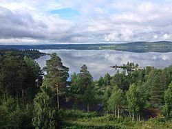 image of a lake near Vilhelmina