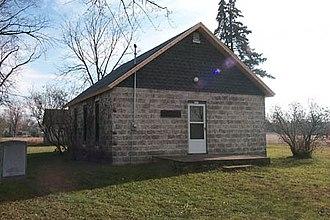 James Strang - Strangite church building in Voree, Wisconsin. (2005)