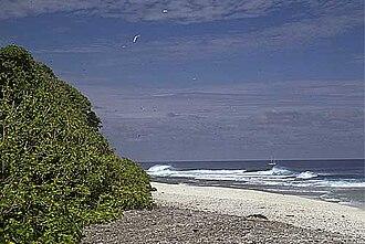 Vostok Island - Image: Vostok AKK Coast