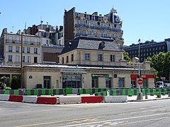 Gare de neuilly porte maillot wikip dia for Rer c porte maillot