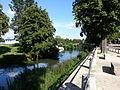 Vue sur le port des Canalous rue Saint Eloi de Pontailler-sur-Saône.jpg