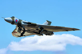 Avro Vulcan XH558 - XH558 at RIAT 2015 during its final display season